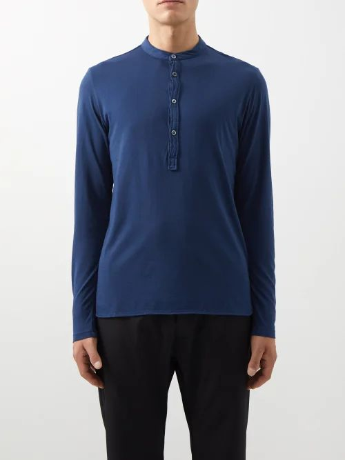 Needles - Cowboy Pineapple Print Cotton Sateen Trousers - Mens - Black
