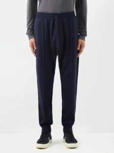 Stone Island Shadow Project - Gathered Leg Technical Trousers - Mens - Black