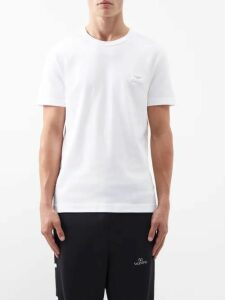 De Bonne Facture - Brushed Cotton Carrot Fit Trousers - Mens - Beige