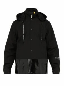 7 Moncler Fragment - Ska Hooded Cotton Shell Jacket - Mens - Black