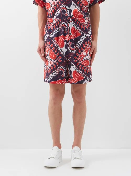 A-cold-wall* - Tailored Technical Trousers - Mens - Black