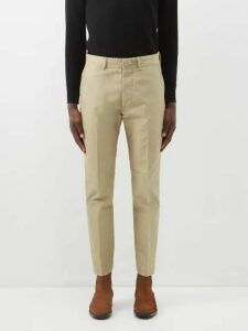 Gucci - Gg Knit Wool Blend Sweater - Mens - Brown