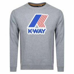 K Way Augustine Sweatshirt Grey