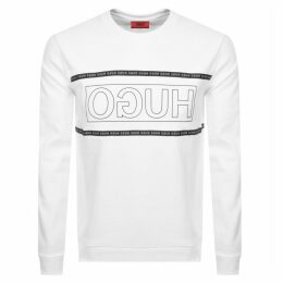 HUGO Dicago 193 Sweatshirt White