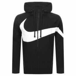 Nike Full Zip Logo Hoodie Black