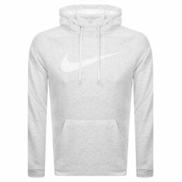 Nike Training Swoosh Logo Hoodie White