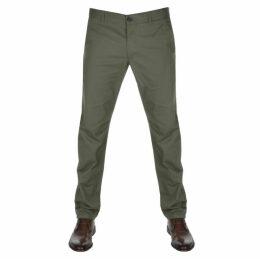 Farah Vintage Elm Chino Trousers Green