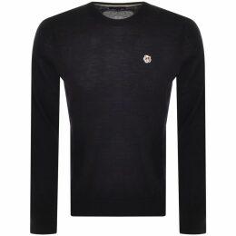 Money Block Sig Ape Logo Sweatshirt Navy