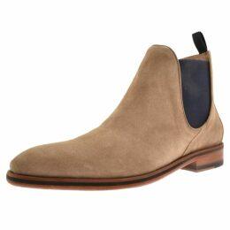 Sweeney London Allegro Chelsea Boots Beige