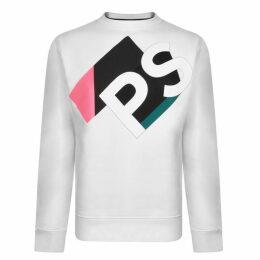 PS by Paul Smith Colour Block Logo Sweatshirt