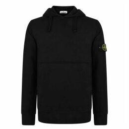 Stone Island Badge Hooded Sweatshirt