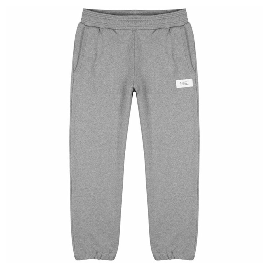 Givenchy Grey Cotton Sweatpants