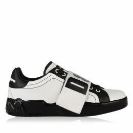 Dolce and Gabbana Melt Portofino Logo Tape Trainers