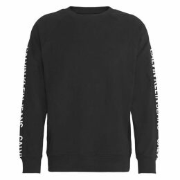 Calvin Klein Jeans Institutional Sleeve Logo Crew Sweatshirt