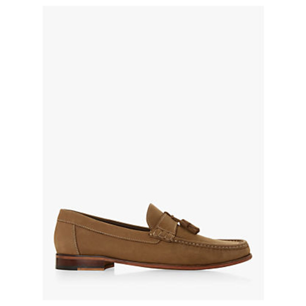 Bertie Shalom Nubuck Tassel Loafers