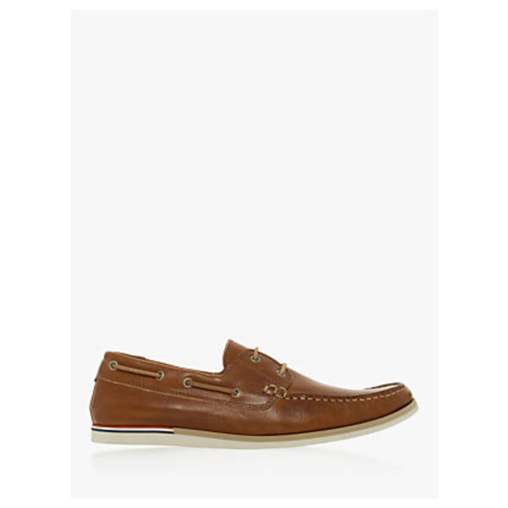 Dune Blainess Leather Boat Shoes