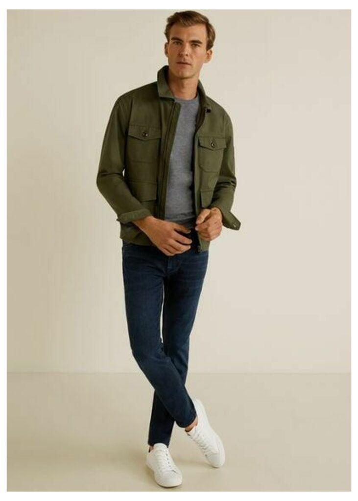 Skinny-fit bluish wash Jude jeans