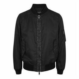 Valentino Rockstud Untitled Shell Bomber Jacket