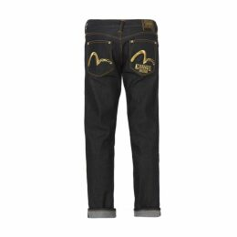 Evisu Double Seagull Embroidered Denim Jeans