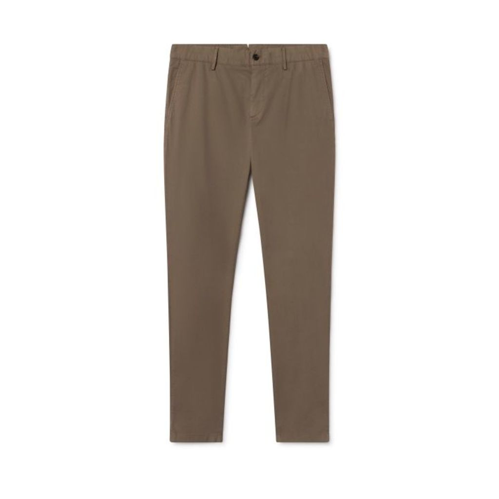 Hackett Garment-dyed Stretch Cotton Chino Trousers