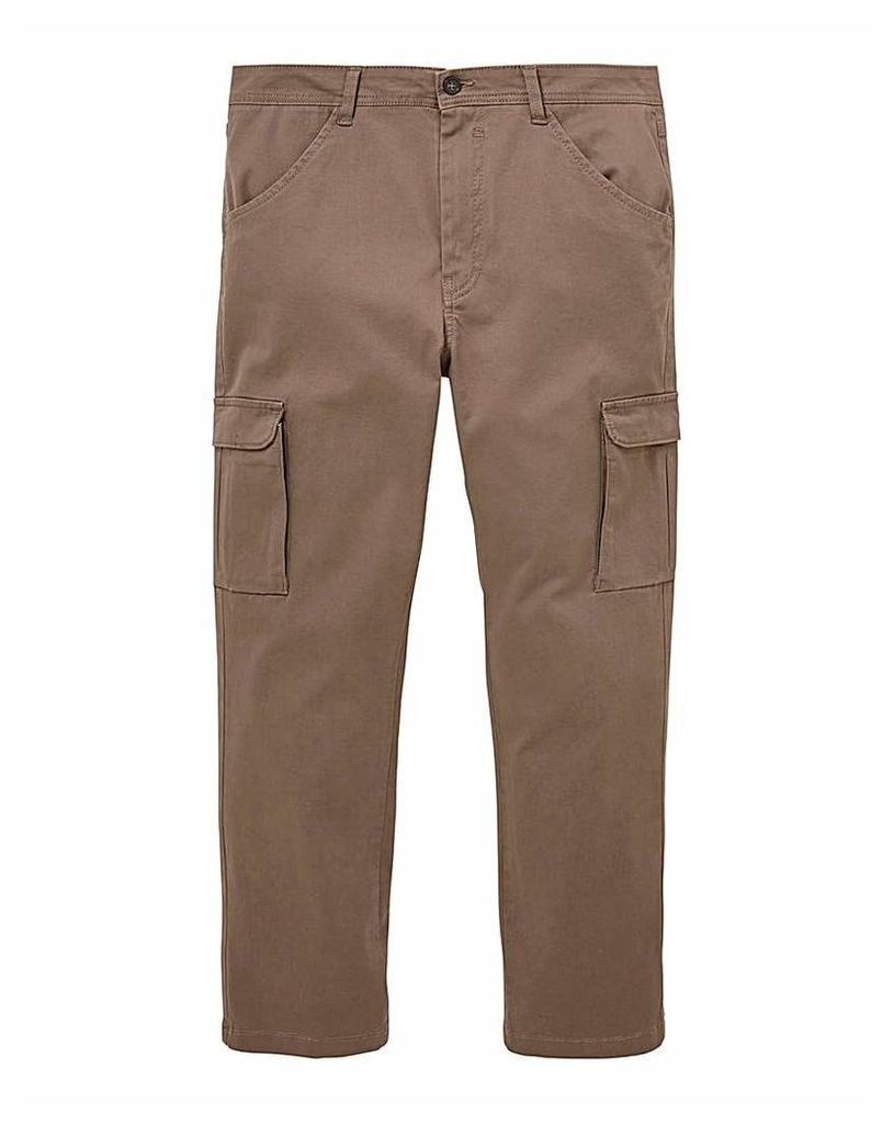 Brown Cargo Trousers