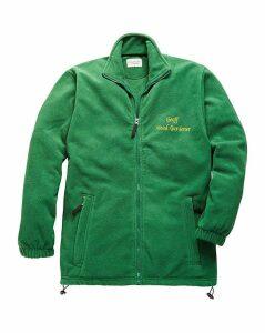Personalised Head Gardener Zip Up Fleece