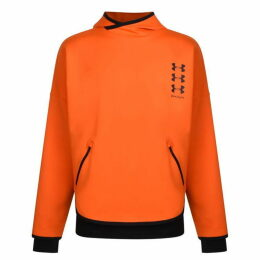 Palm Angels X Under Armour Loose Hooded Sweatshirt