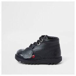 River Island Mini kids Black Kickers lace-up boots