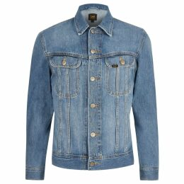 Mens River Island Lee Big and Tall Blue denim jacket