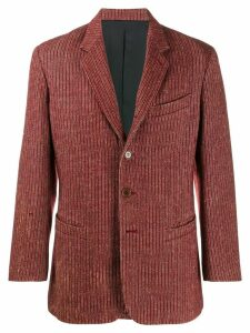 Jean Paul Gaultier Pre-Owned striped jacket - Red