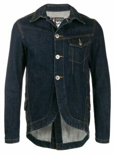 Jean Paul Gaultier Pre-Owned 'JPG' denim jacket - Blue