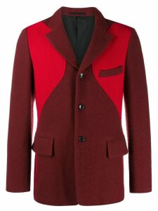 Comme Des Garçons Pre-Owned 2003's block colour jacket - Red