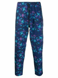 Dyne floral performance trousers - Blue