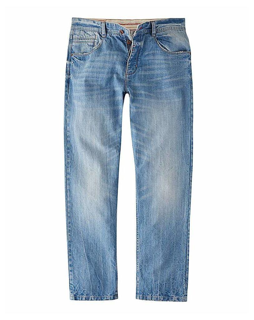 Joe Browns Light Wash Loose Fit Jean