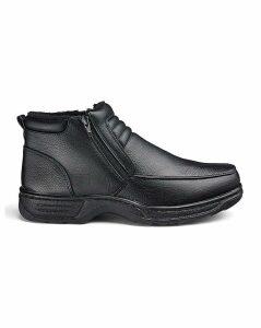 Cushion Walk Zip Boots Standard Fit