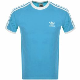 Lacoste Croco Sliders Blue