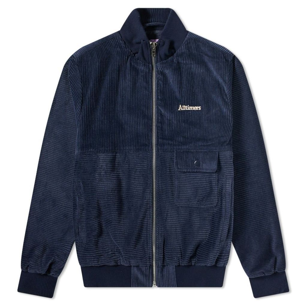 Alltimers Jeremih Cord Jacket Navy