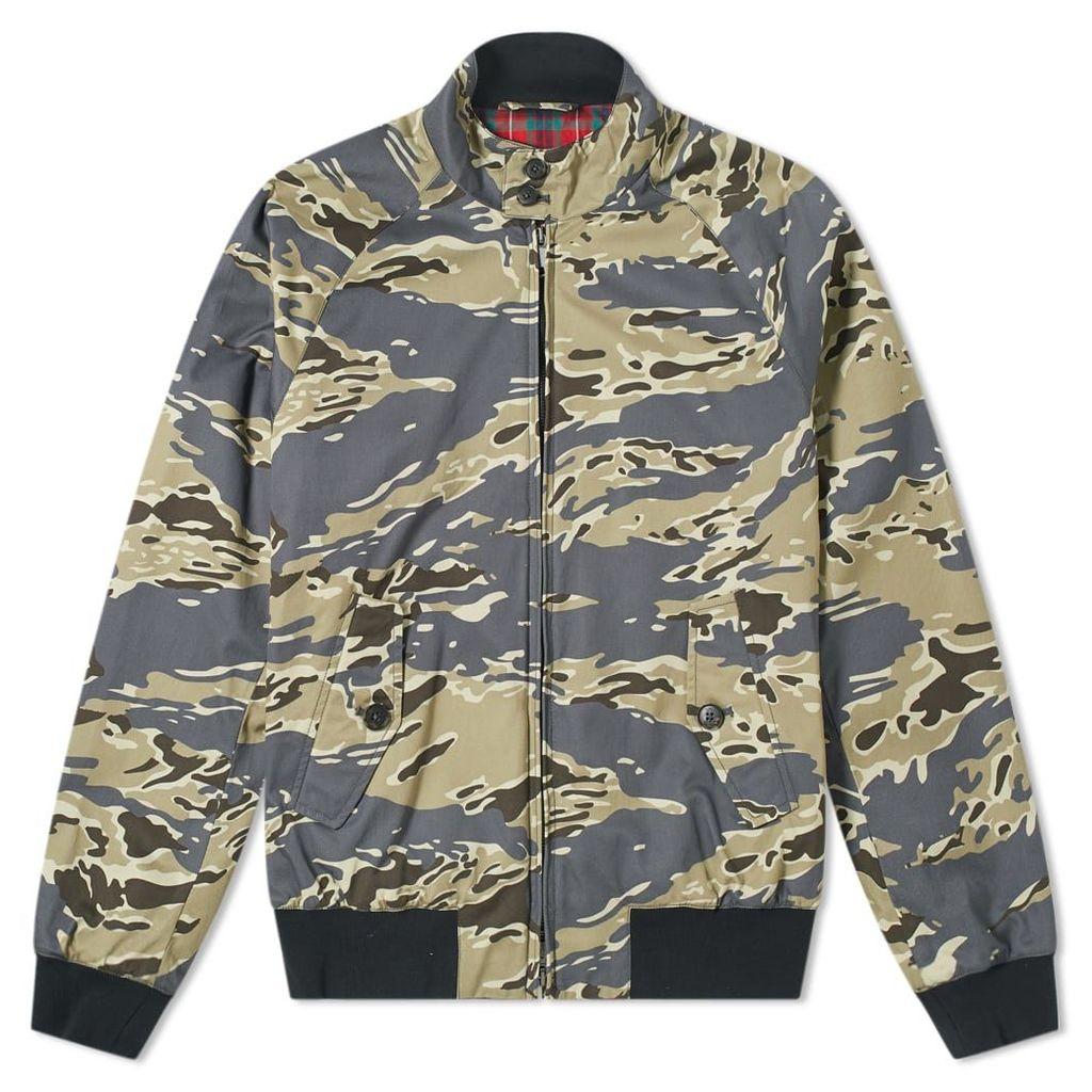 Baracuta G9 Camouflage Jacket Tiger Camo