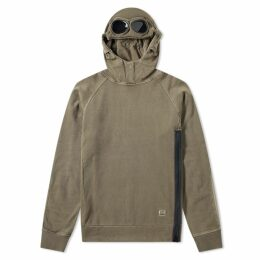 C.P. Company Goggle Popover Hoody Olive