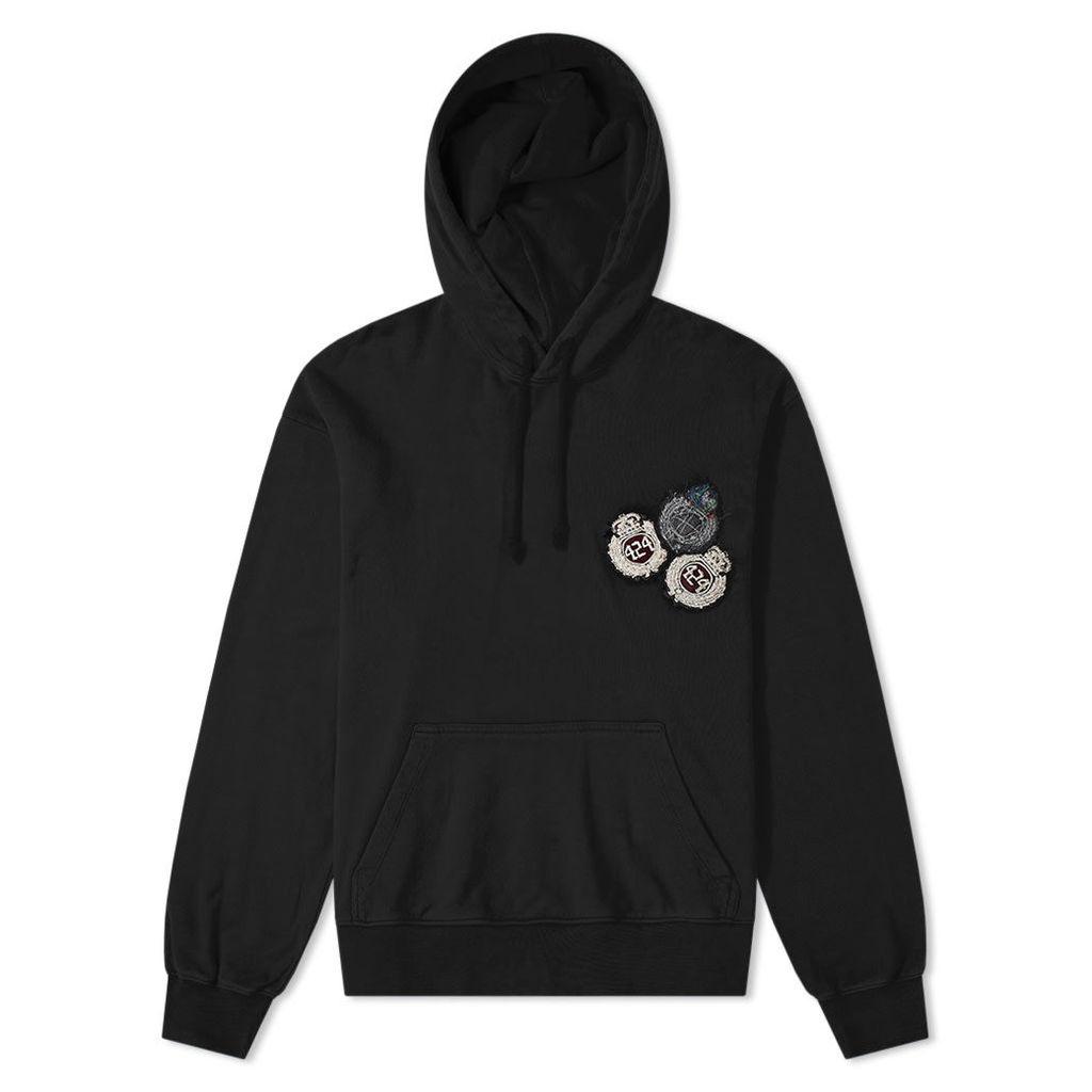 424 Academy Hoody Black