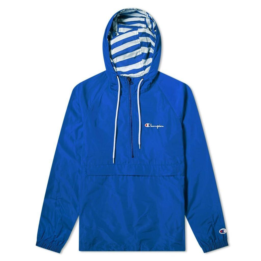 Champion Reverse Weave Popover Jacket Royal Blue