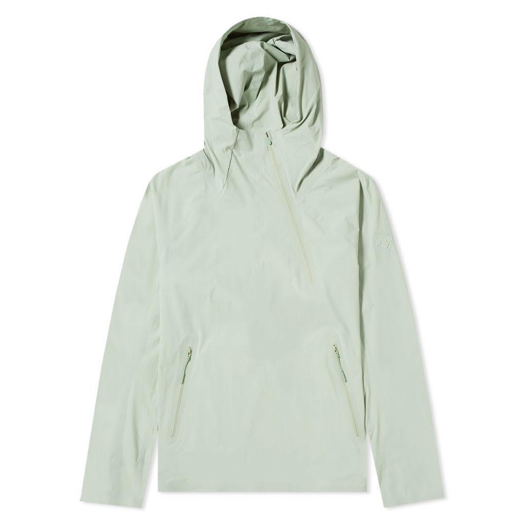 Descente Allterrain Parahem Packable Hooded Jacket Storm Green