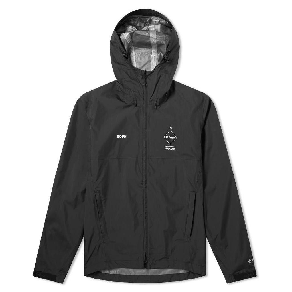 F.C. Real Bristol Rain Jacket Black