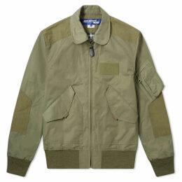 Junya Watanabe MAN Camo Lined MA-1 Bomber Jacket Khaki