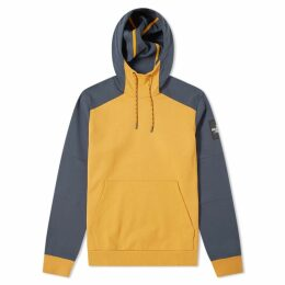 The North Face Fine 2 Box Hoody Citrine Yellow & Urban Navy