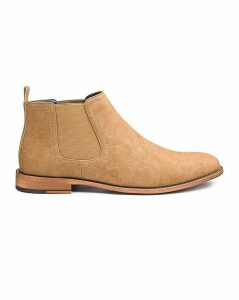 Suede Look Chelsea Boot