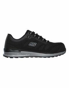 Skechers Bulklin Lace Up Safety Shoe