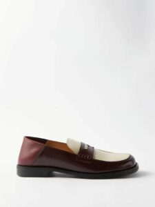 Gramicci - Belted Waist Cotton Blend Twill Trousers - Mens - Grey