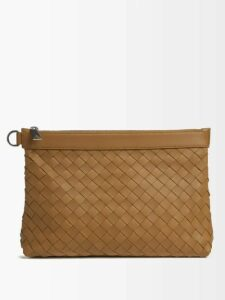 Burberry - Icon Striped Technical Jersey Track Pants - Mens - Red
