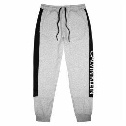 Calvin Klein Grey Cotton-blend Sweatpants
